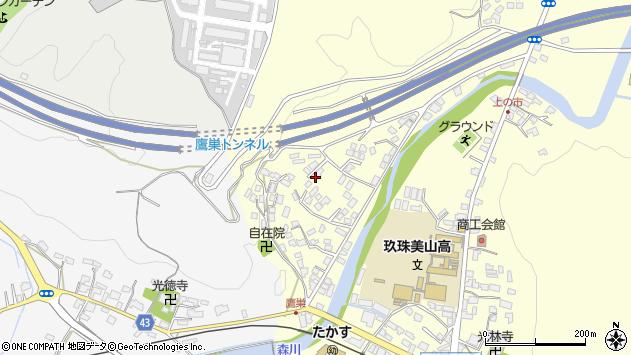 大分県玖珠郡玖珠町帆足2649周辺の地図