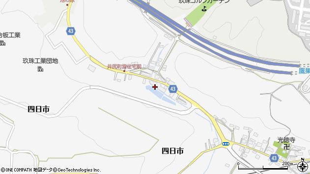 大分県玖珠郡玖珠町四日市213周辺の地図