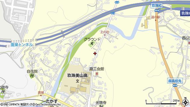 大分県玖珠郡玖珠町帆足87周辺の地図