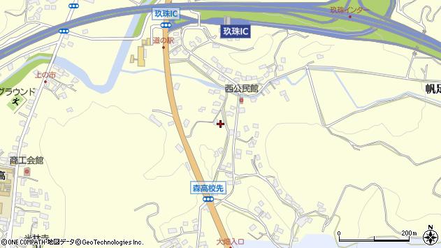 大分県玖珠郡玖珠町帆足867周辺の地図