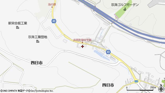 大分県玖珠郡玖珠町四日市161周辺の地図