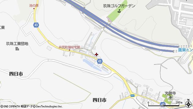 大分県玖珠郡玖珠町四日市207周辺の地図