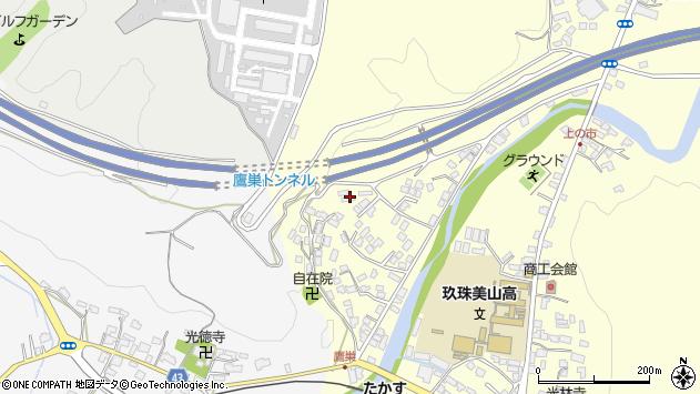 大分県玖珠郡玖珠町帆足2652周辺の地図