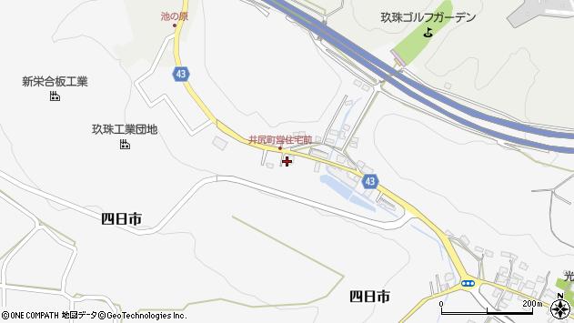 大分県玖珠郡玖珠町四日市159周辺の地図