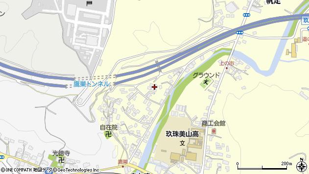 大分県玖珠郡玖珠町帆足2631周辺の地図