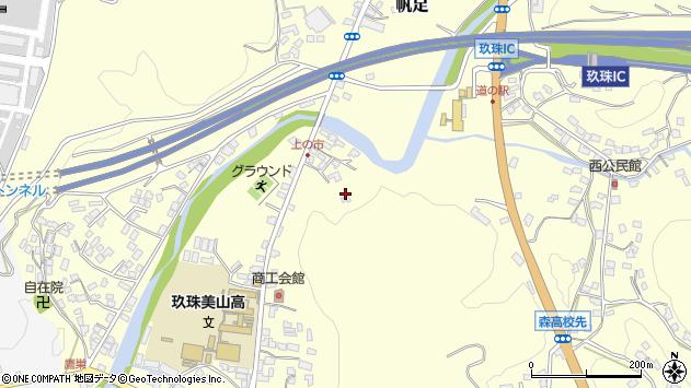 大分県玖珠郡玖珠町帆足24周辺の地図