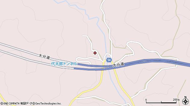 大分県玖珠郡玖珠町戸畑5457周辺の地図