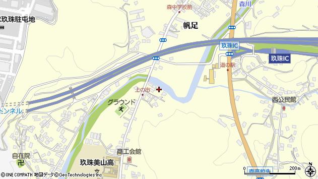 大分県玖珠郡玖珠町帆足6周辺の地図