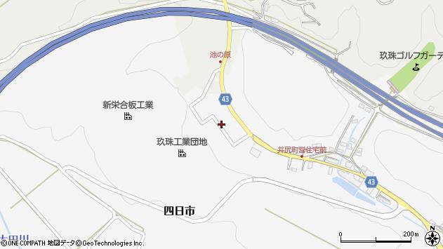 大分県玖珠郡玖珠町四日市180周辺の地図