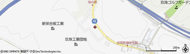 大分県玖珠郡玖珠町四日市181周辺の地図