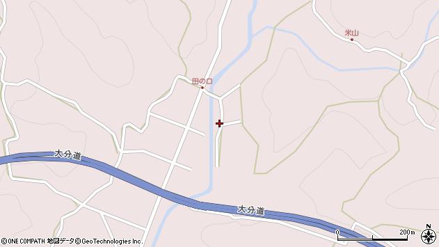 大分県玖珠郡玖珠町戸畑1912周辺の地図