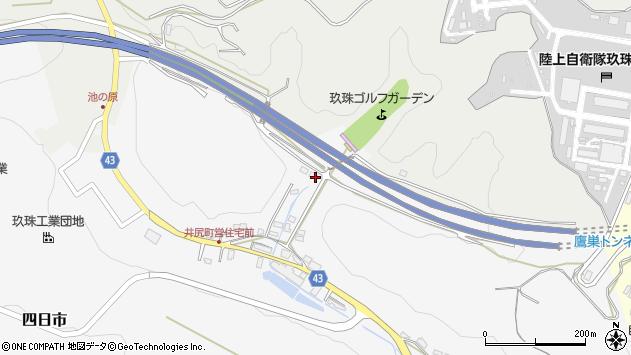 大分県玖珠郡玖珠町四日市90周辺の地図