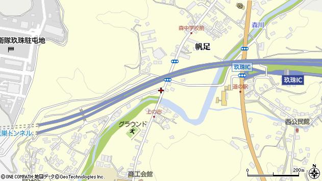 大分県玖珠郡玖珠町帆足2137周辺の地図