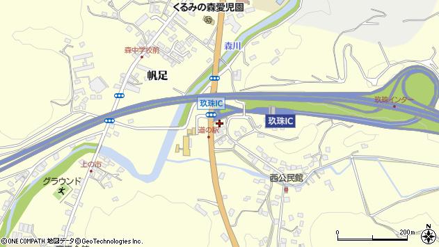 大分県玖珠郡玖珠町帆足2115周辺の地図