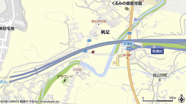 大分県玖珠郡玖珠町帆足2141周辺の地図
