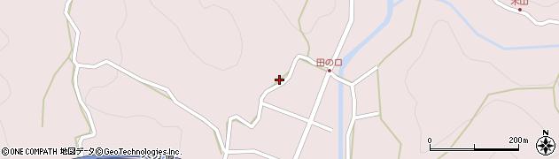 大分県玖珠郡玖珠町戸畑2695周辺の地図