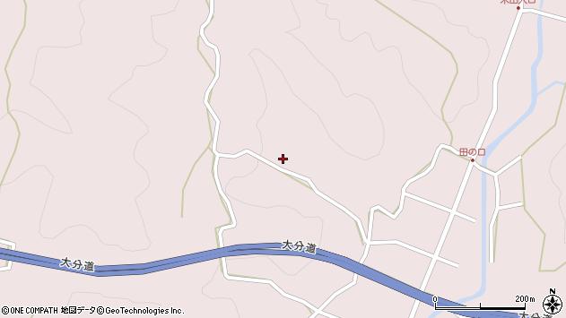 大分県玖珠郡玖珠町戸畑2670周辺の地図