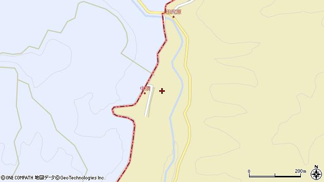 大分県玖珠郡九重町松木2312周辺の地図