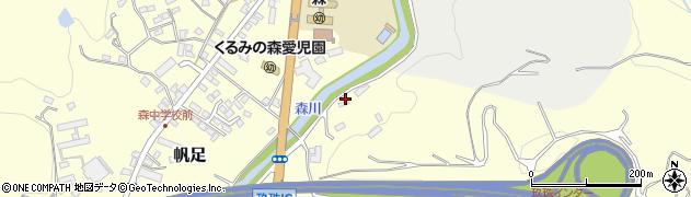 大分県玖珠郡玖珠町帆足2032周辺の地図