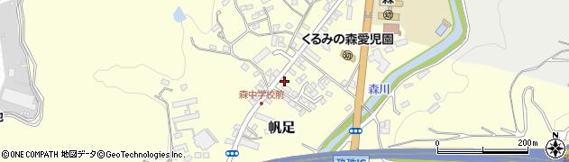 大分県玖珠郡玖珠町帆足2175周辺の地図