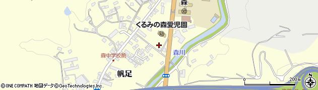 大分県玖珠郡玖珠町帆足栄町周辺の地図
