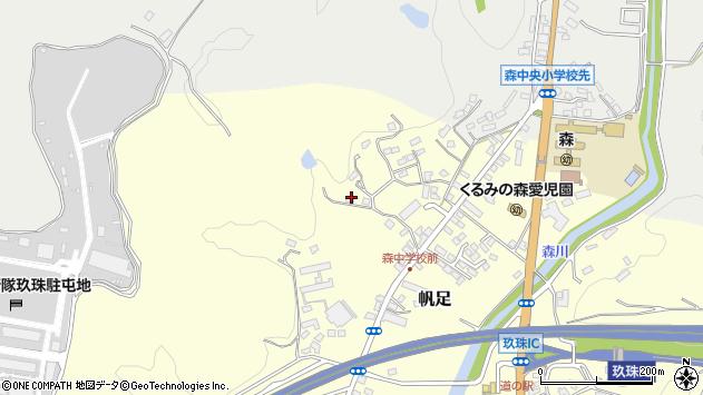 大分県玖珠郡玖珠町帆足2274周辺の地図