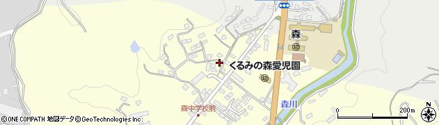 大分県玖珠郡玖珠町帆足2234周辺の地図