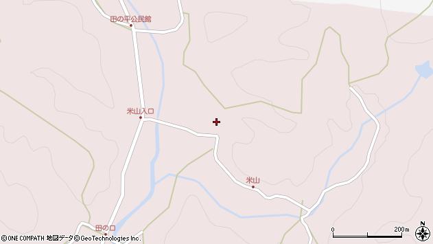 大分県玖珠郡玖珠町戸畑2012周辺の地図