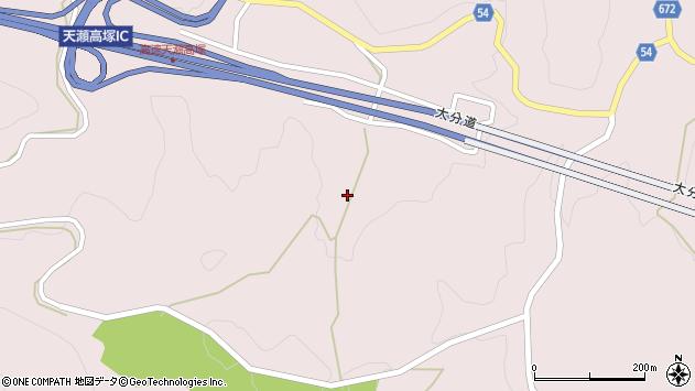 大分県玖珠郡玖珠町戸畑9744周辺の地図
