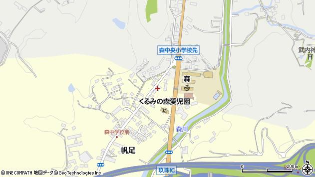 大分県玖珠郡玖珠町帆足2200周辺の地図