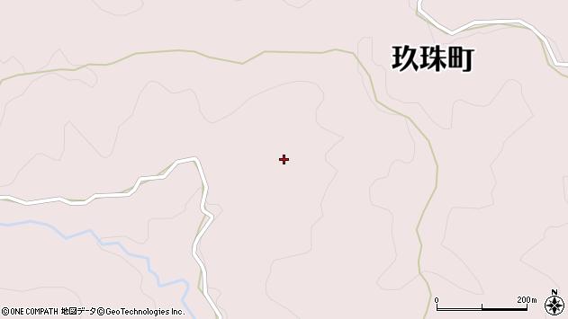 大分県玖珠郡玖珠町戸畑5868周辺の地図