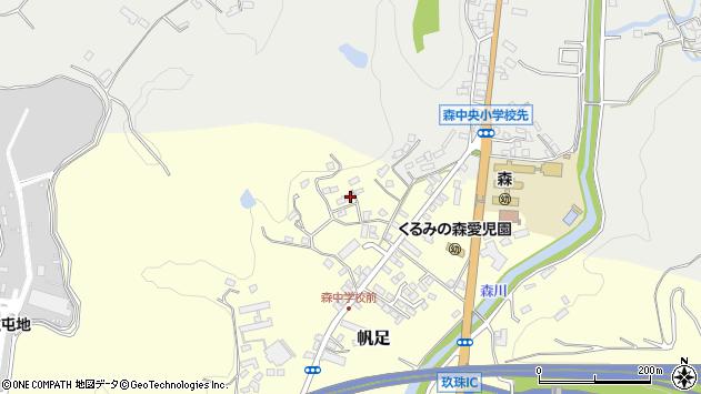 大分県玖珠郡玖珠町帆足2228周辺の地図