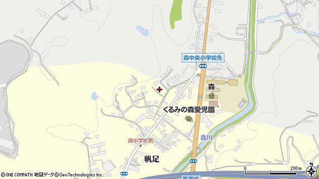 大分県玖珠郡玖珠町帆足2214周辺の地図