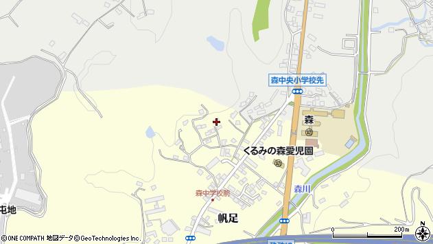 大分県玖珠郡玖珠町帆足2224周辺の地図