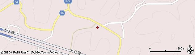 大分県玖珠郡玖珠町戸畑4838周辺の地図