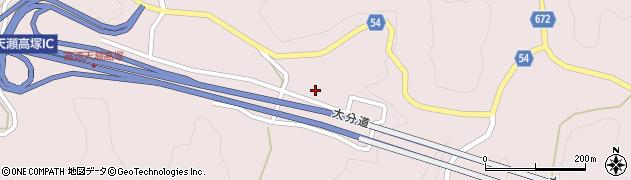 大分県玖珠郡玖珠町戸畑9875周辺の地図