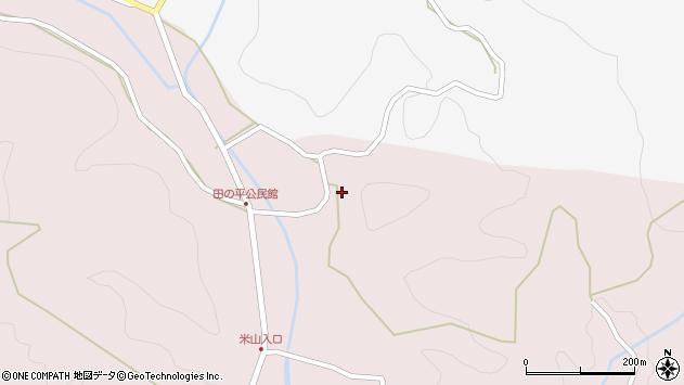 大分県玖珠郡玖珠町戸畑2319周辺の地図