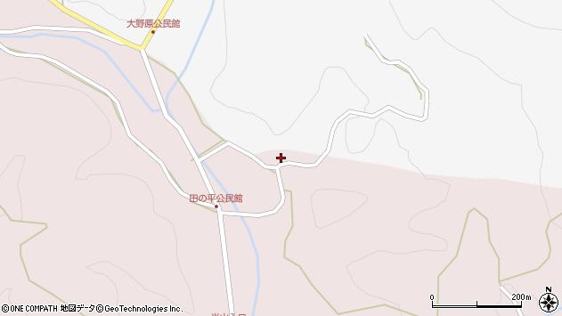 大分県玖珠郡玖珠町四日市1446周辺の地図