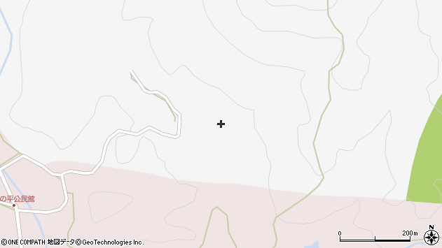 大分県玖珠郡玖珠町四日市1414周辺の地図