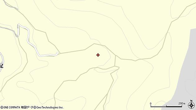 大分県玖珠郡玖珠町帆足影の木周辺の地図