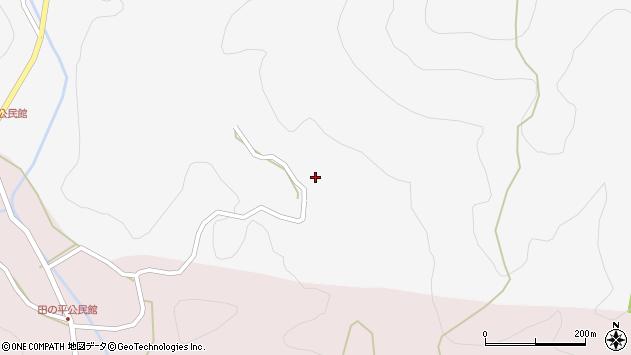 大分県玖珠郡玖珠町四日市1422周辺の地図