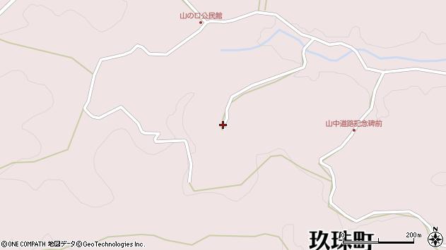 大分県玖珠郡玖珠町戸畑3682周辺の地図