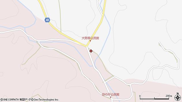 大分県玖珠郡玖珠町戸畑3327周辺の地図