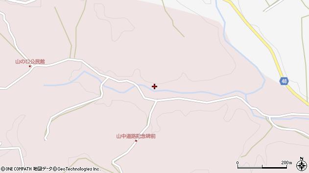 大分県玖珠郡玖珠町戸畑3470周辺の地図