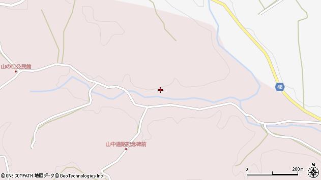大分県玖珠郡玖珠町戸畑3411周辺の地図
