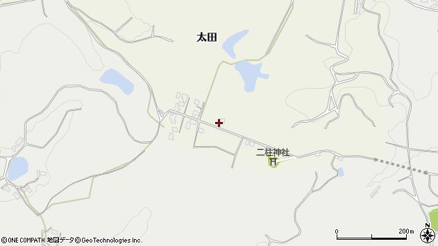 大分県玖珠郡玖珠町太田89周辺の地図