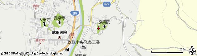 大分県玖珠郡玖珠町森577周辺の地図