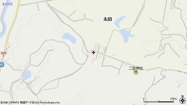 大分県玖珠郡玖珠町太田103周辺の地図