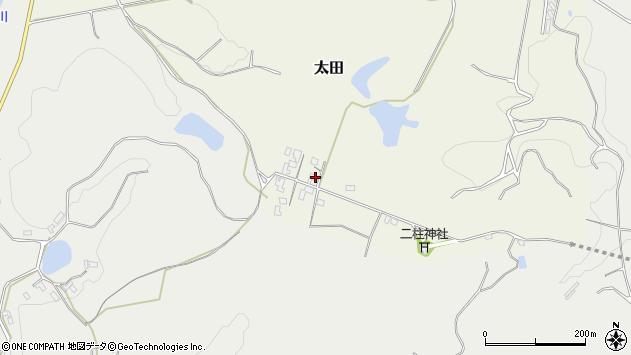 大分県玖珠郡玖珠町太田87周辺の地図