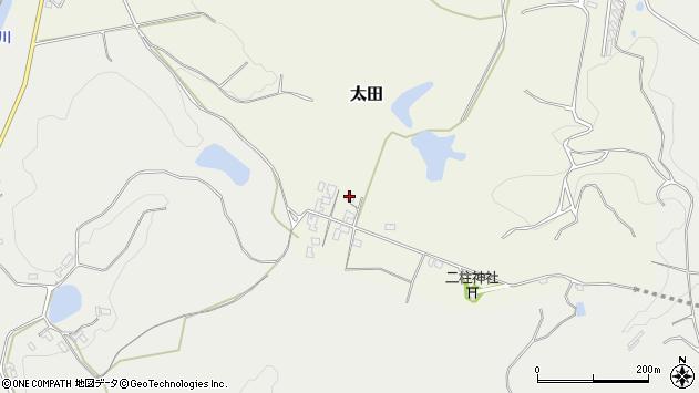 大分県玖珠郡玖珠町太田86周辺の地図
